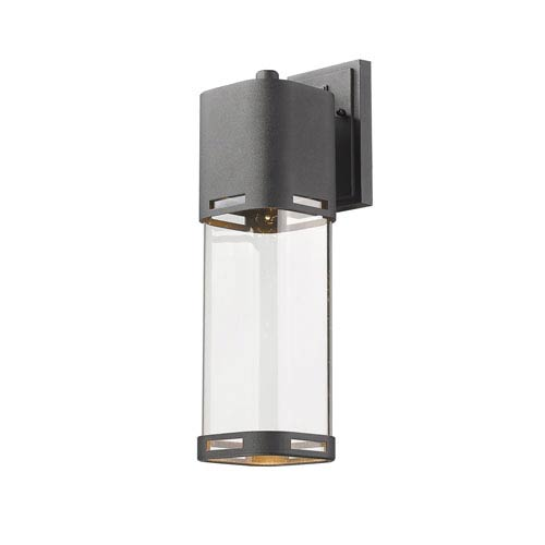 Z-Lite Lestat Black 18-Inch LED Outdoor Wall Mount