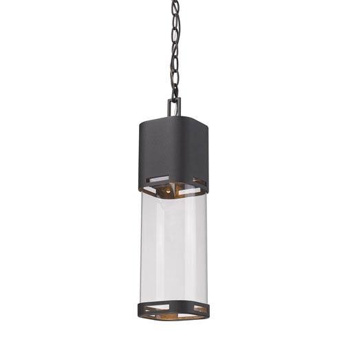 Lestat Black LED Outdoor Pendant