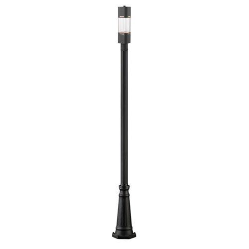 Lestat Black LED Outdoor Post Light