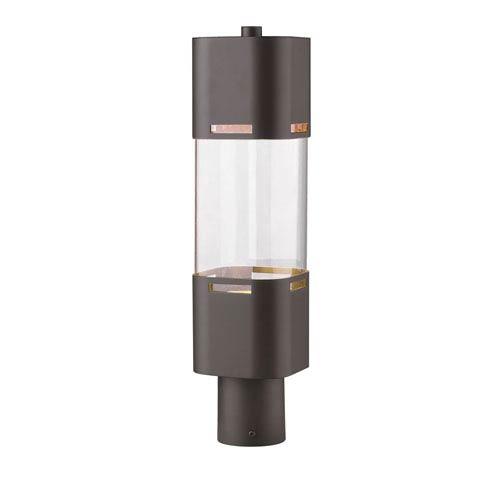 Lestat Deep Bronze 20-Inch LED Outdoor Post Light
