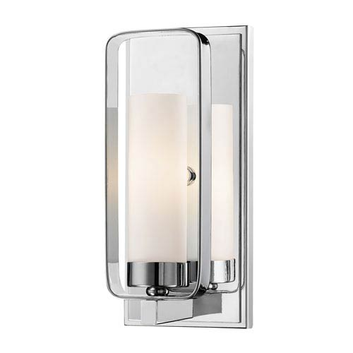 Aideen Chrome One-Light Wall Sconce