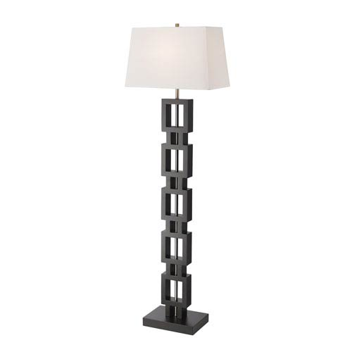 Serenity Black 18-Inch One-Light Floor Lamp