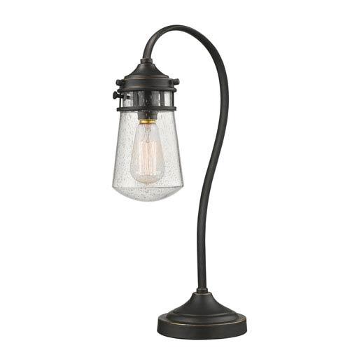 Celeste Olde Bronze One-Light Table Lamp
