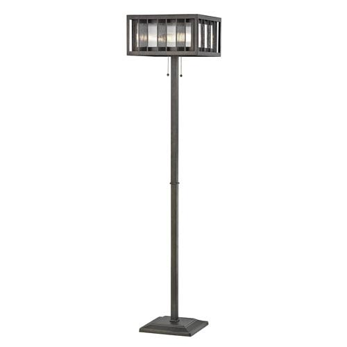 Meridional Bronze Three-Light Floor Lamp