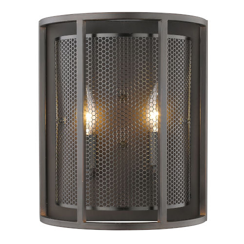 Verona Oil Rubbed Bronze Two-Light Wall Sconce