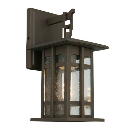 EGLO Arlington Creek Matte Bronze One-Light Outdoor Wall Mount