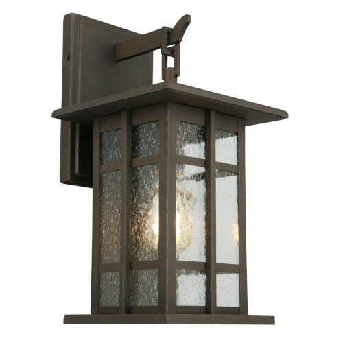 Arlington Creek Oil Rubbed Bronze Nine-Inch One-Light Outdoor Wall Sconce