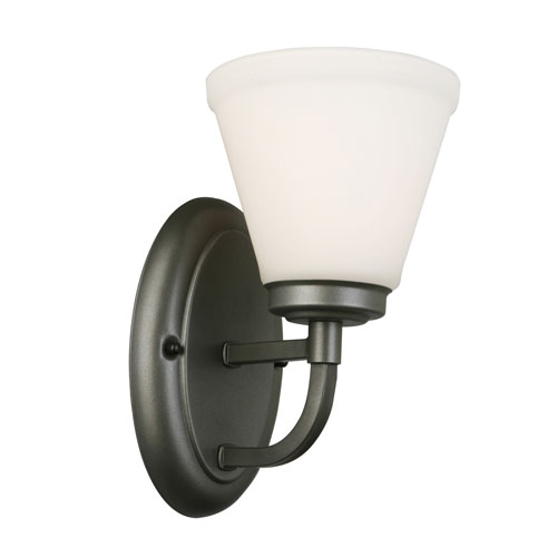 EGLO Mayview Graphite One-Light Wall Sconce