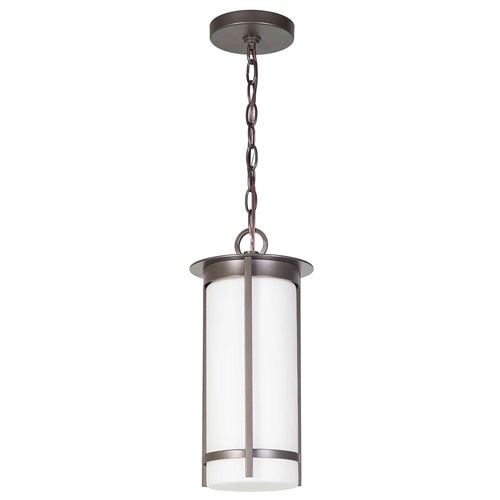 Truxton Graphite One-Light Mini Pendant
