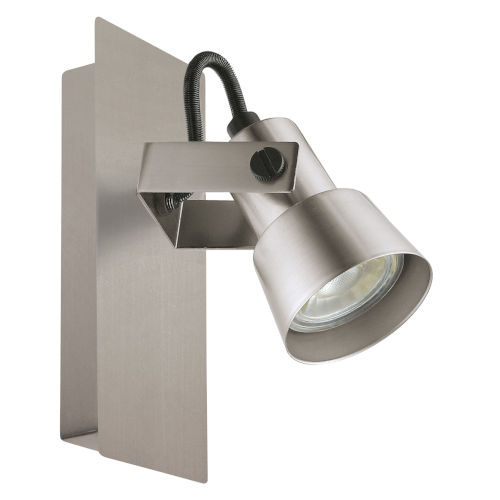 Trillo Brushed Nickel Five-Inch LED Track Light