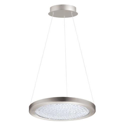 Arezzo 3 Silver 15-Inch LED Pendant