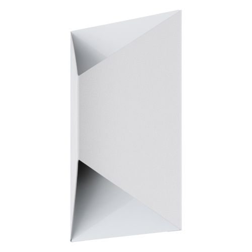 Predazzo White Two-Light LED Outdoor Wall Sconce