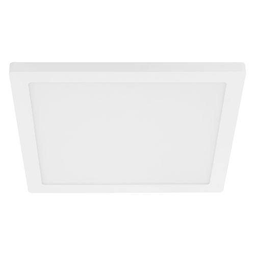 Trago 12-S White 12-Inch One-Light LED Flush Mount