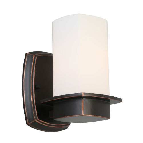 Vlacker Oil Rubbed Bronze One-Light Wall Sconce