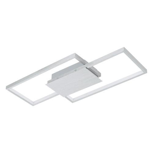 Milanius Silver 20-Inch LED Flush Mount