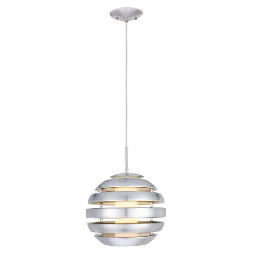 Mercur 1 Silver One-Light Pendant