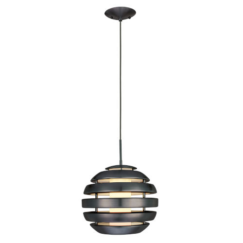 Mercur 1 Black One-Light Pendant