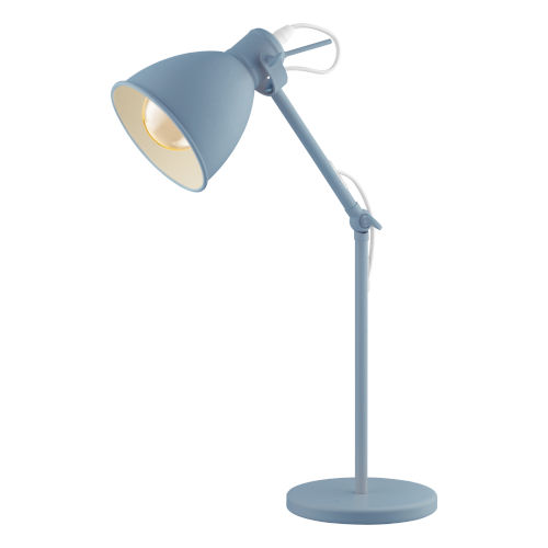 Priddy-P Blue One-Light Desk Lamp