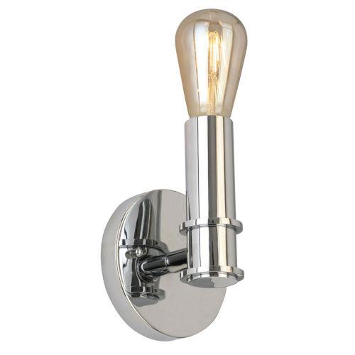 Drucker Silver One-Light Wall Sconce