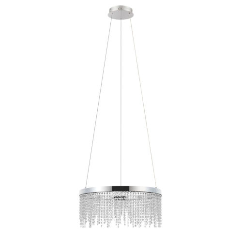 Antelao Silver 24-Inch LED Chandelier