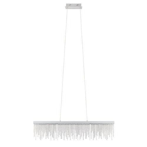 Antelao Silver Five-Inch LED Chandelier