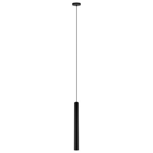 Tortoreto Black 24-Inch GU10 LED Pendant