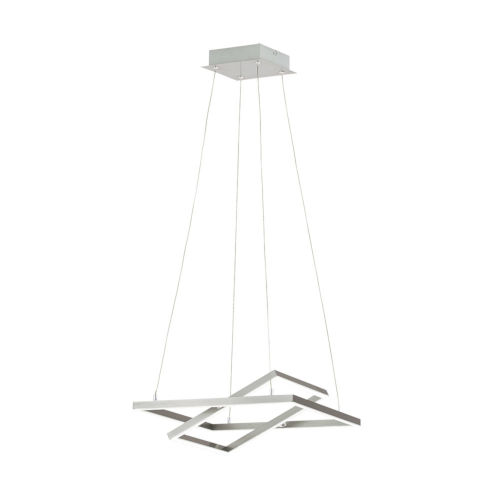 Tamasera Silver 16-Inch 40W LED Pendant