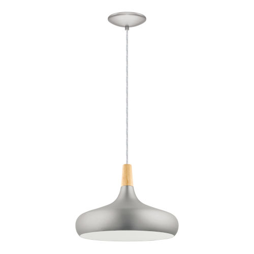 Sabinar Brushed Nickel 16-Inch One-Light Pendant