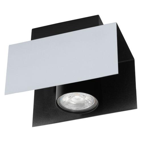 Viserba Aluminum and Black Four-Inch LED Track Light