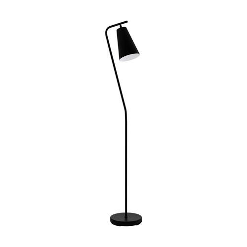 Rekalde Black and White One-Light Floor Lamp