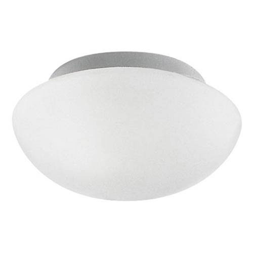 Milli Modern Lighting Estes Opal White One-Light Flush Mount