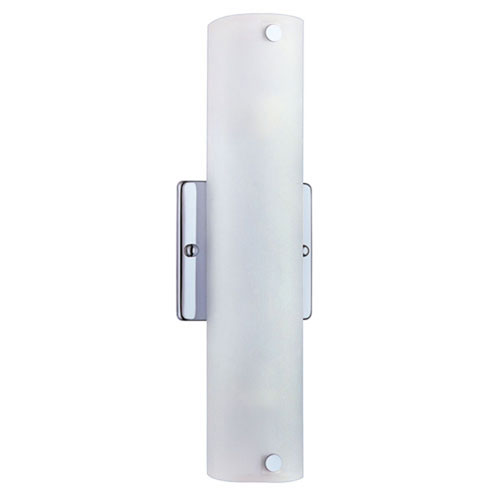 Trimble Chrome Two-Light Wall Sconce