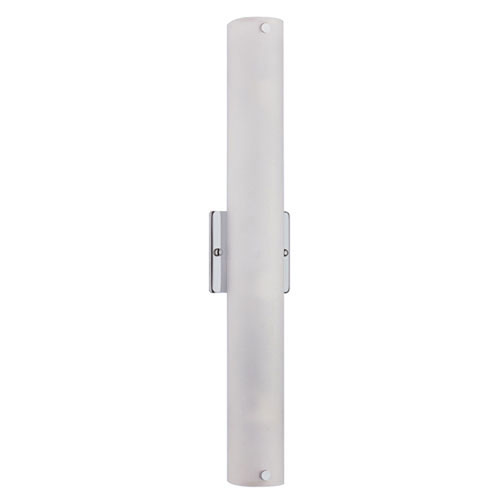 Trimble Chrome Three-Light Wall Sconce