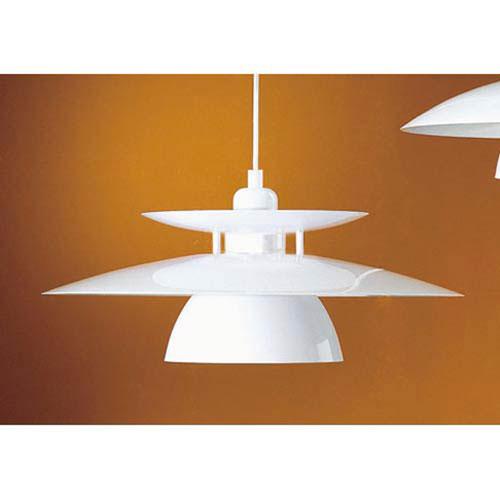Brene White One-Light Pendant