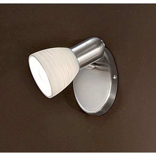London Matte Nickel One-Light Wall Sconce