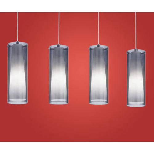 Stu Chrome Four-Light Pendant