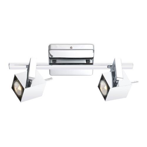 Ara Chrome Two-Light Monorail