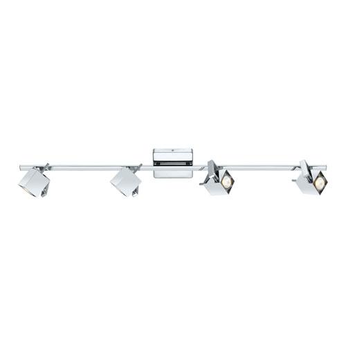 Ara Chrome Four-Light Monorail
