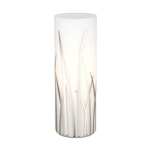 River Chrome One-Light Table Lamp