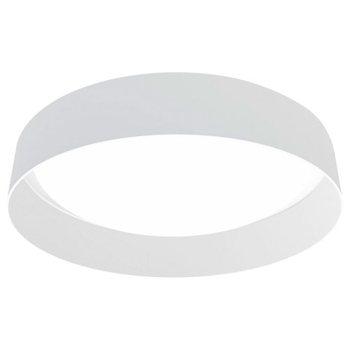Milli Modern Lighting Palms White LED Flush Mount