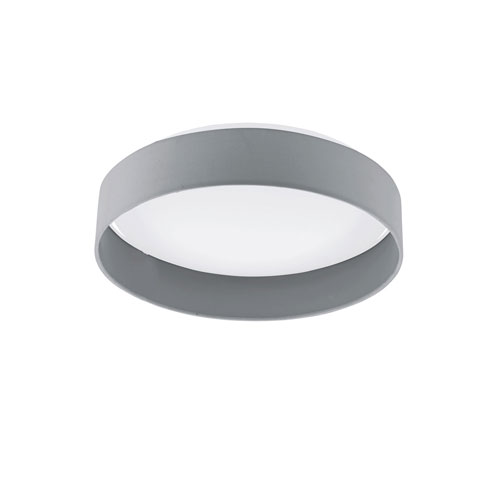 Palms Charcoal 16-Inch LED Flush Mount