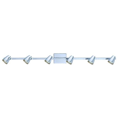 Diego Chrome Six-Light Track Light