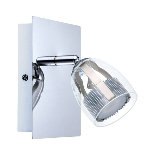Milli Modern Lighting Everett Chrome LED Wall Sconce