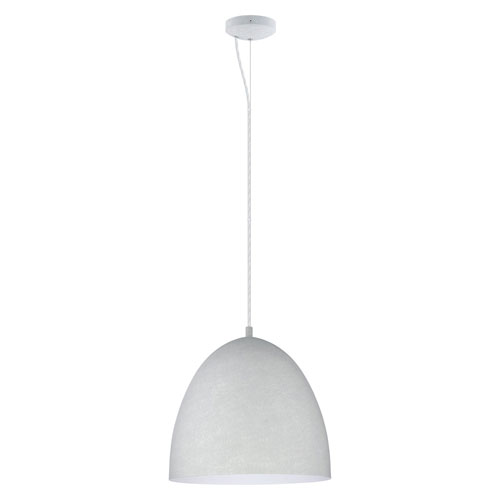 Milli Modern Lighting Sabrina Concrete Grey One-Light Pendant