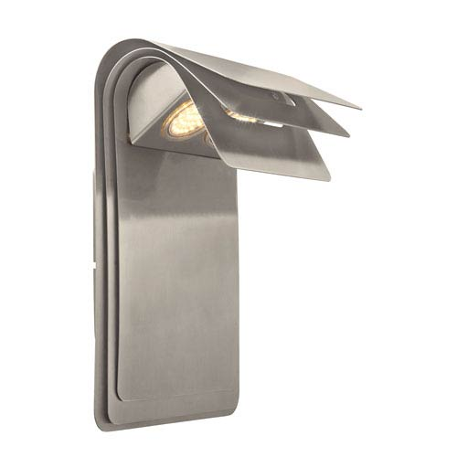 Sojo LED Satin Nickel Two-Light Outdoor Wall Sconce