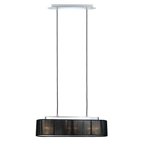Fabienne Chrome Three-Light Pendant