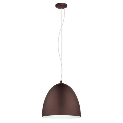 Sarabia 16-Inch Chocolate Brown One-Light Pendant