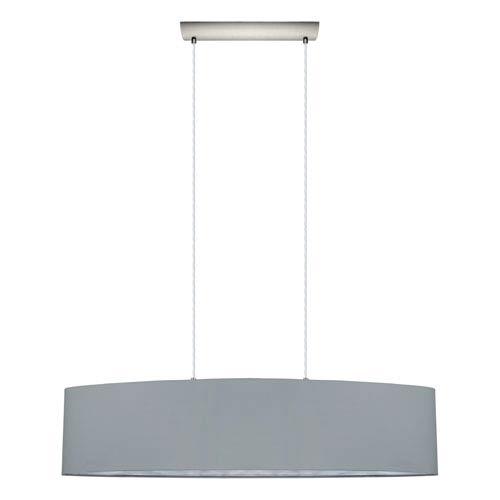 Maserlo 40-Inch Satin Nickel Two-Light Pendant