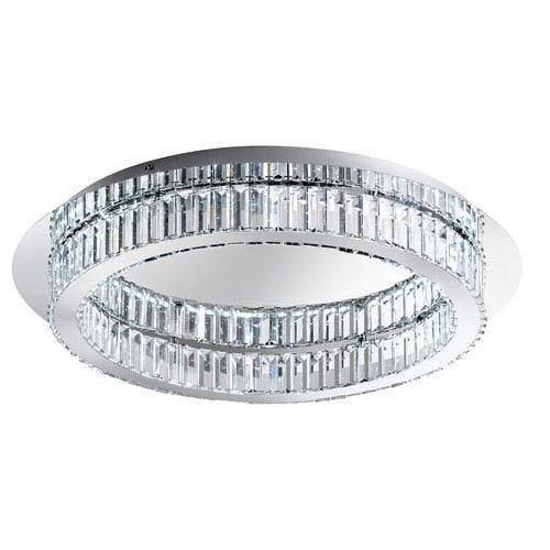 Corliano LED Chrome 12-Light Flushmount