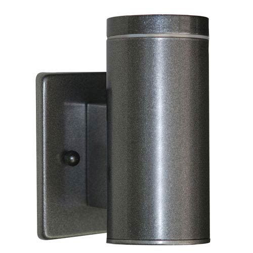 EGLO Riga Anthracite One-Light Outdoor Wall Light
